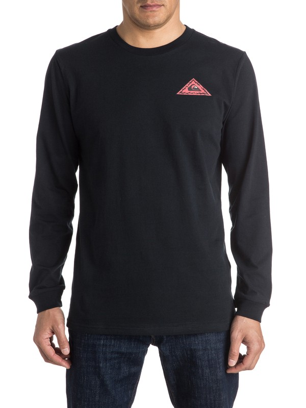 0 PM Born Bad Long Sleeve Tee  EQYZT03951 Quiksilver