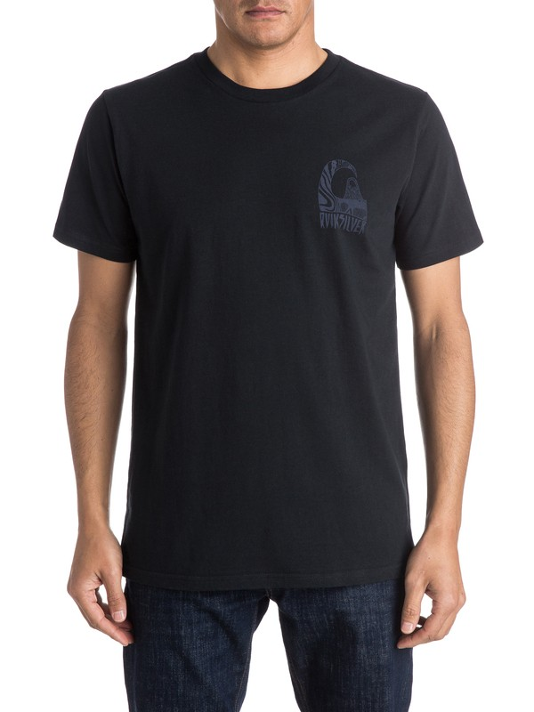0 Tribal - Tee-Shirt  EQYZT03953 Quiksilver
