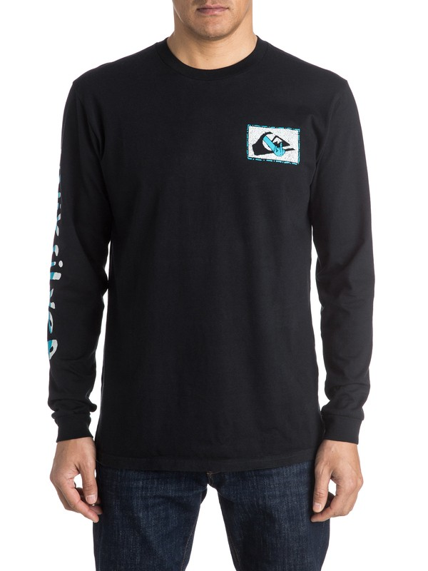 0 AM Upper Class Long Sleeve Tee  EQYZT03962 Quiksilver