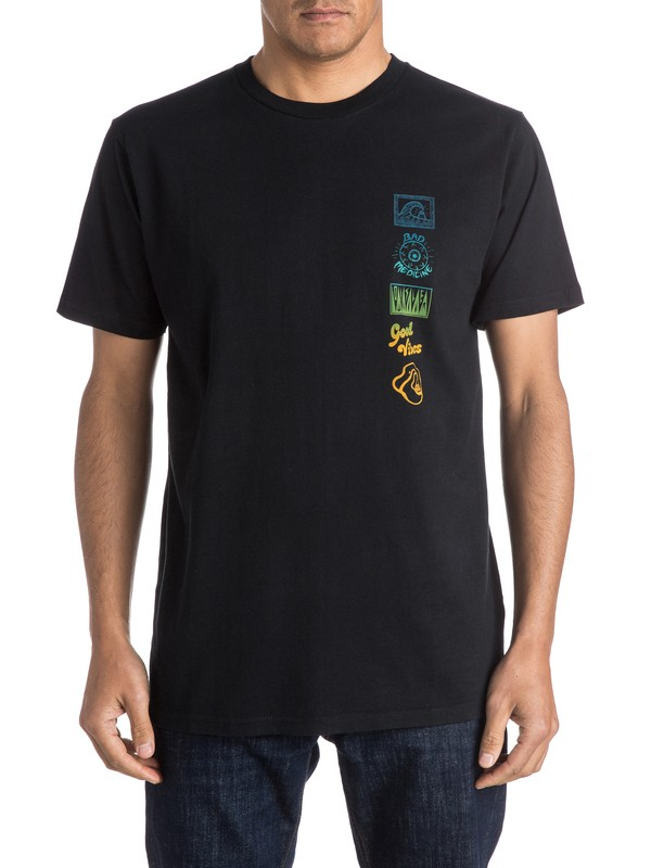 0 Camiseta AM Side Track  EQYZT03966 Quiksilver