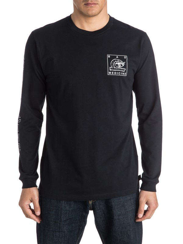 0 Bad Medicine Long Sleeve Tee  EQYZT04150 Quiksilver