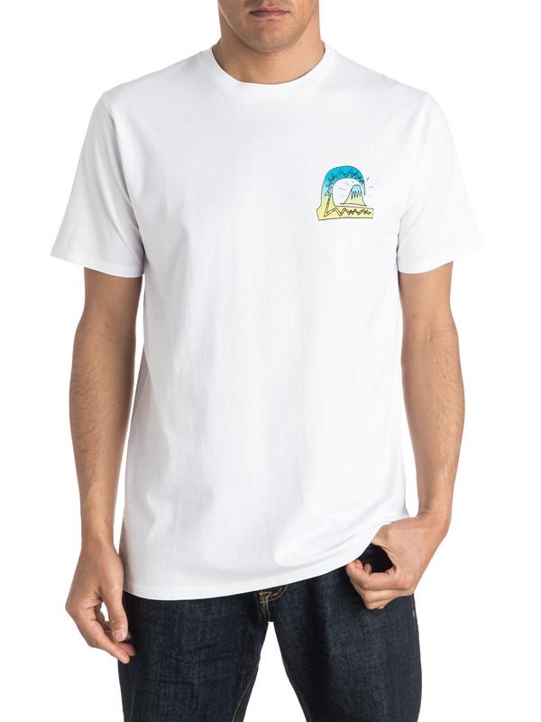 0 Fluro Beach Tee  EQYZT04167 Quiksilver