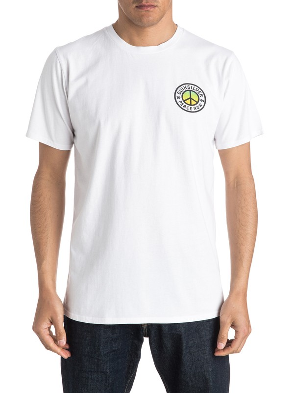 0 Peace Now Tee  EQYZT04169 Quiksilver