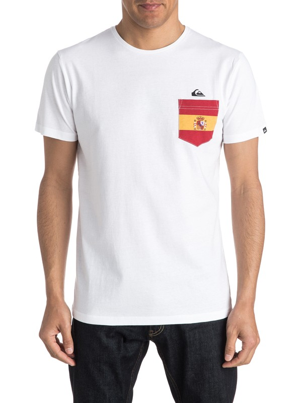 0 Spanish Team - Tee-shirt  EQYZT04197 Quiksilver