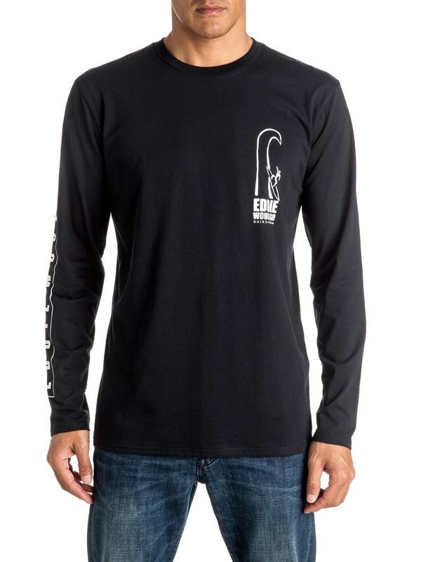 0 Eddie Would Go - Tee-Shirt à manches longues  EQYZT04258 Quiksilver