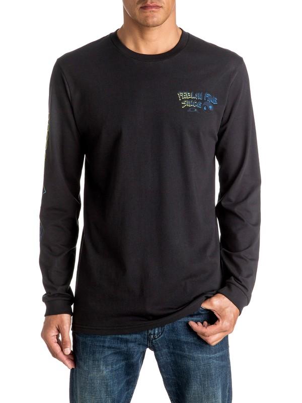 0 Feeling Fine - Long Sleeve T-shirt  EQYZT04265 Quiksilver