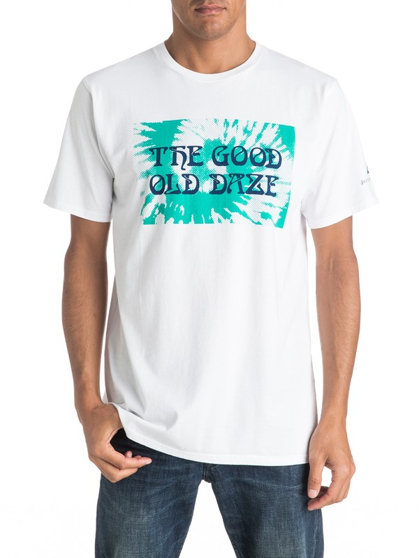 0 Good Old Daze Tee  EQYZT04267 Quiksilver