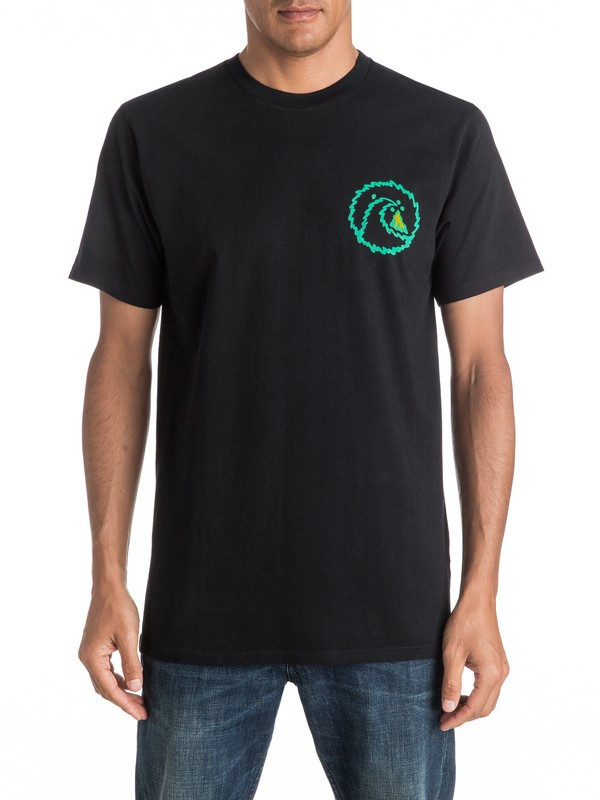 0 Melt Out Tee  EQYZT04268 Quiksilver
