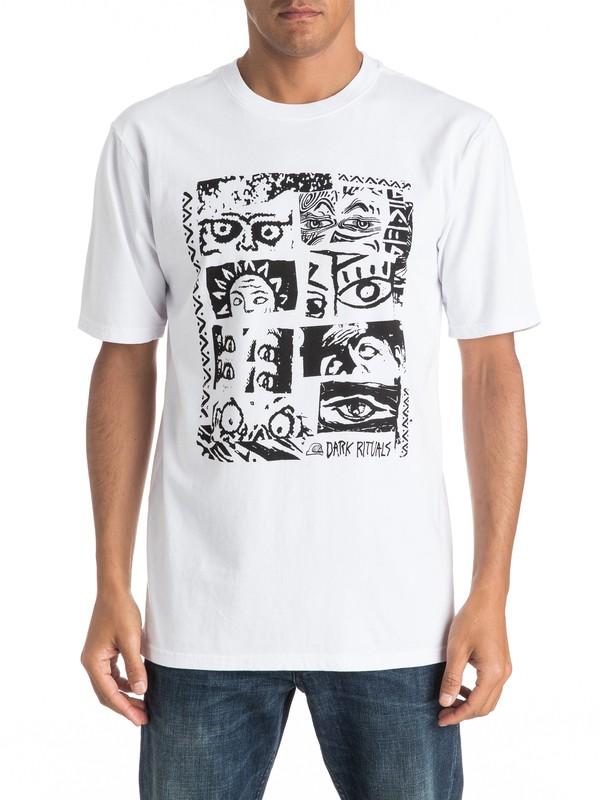 0 Look - Tee-Shirt  EQYZT04274 Quiksilver