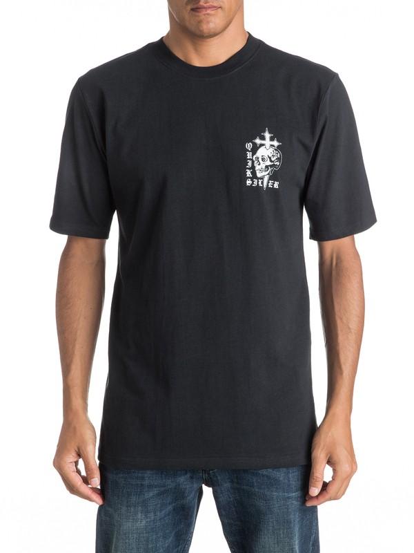0 Skull Cross - Tee-Shirt  EQYZT04277 Quiksilver