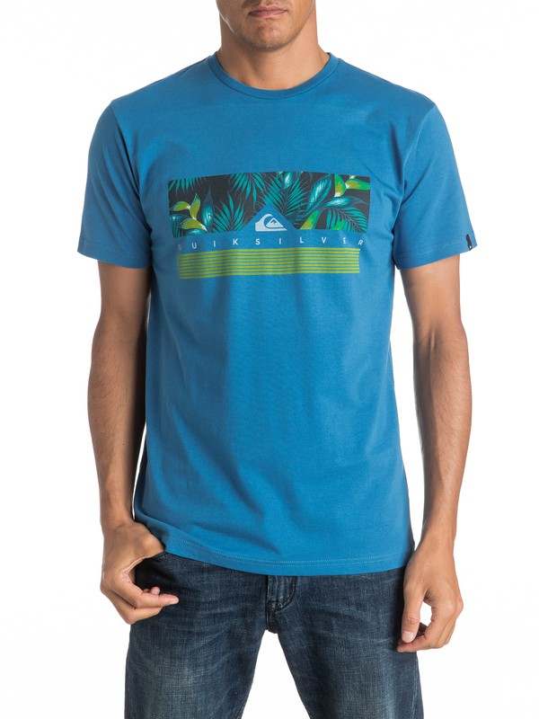 0 Classic Jungle Box - Tee-Shirt  EQYZT04284 Quiksilver