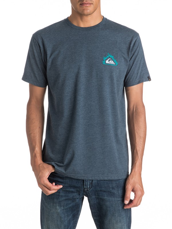 0 Heather Hell Tentation - Tee-Shirt  EQYZT04286 Quiksilver