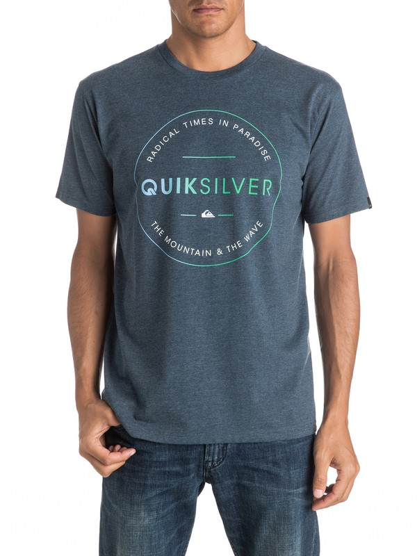 0 Heather Free Zone - Tee-Shirt  EQYZT04288 Quiksilver