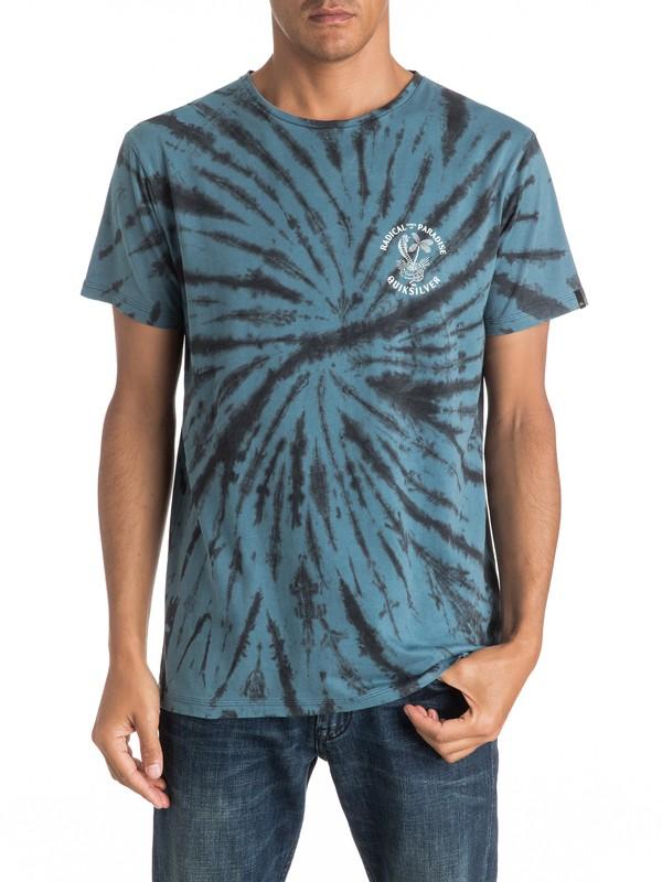 0 Off The Block Spiral - Tee-Shirt  EQYZT04293 Quiksilver