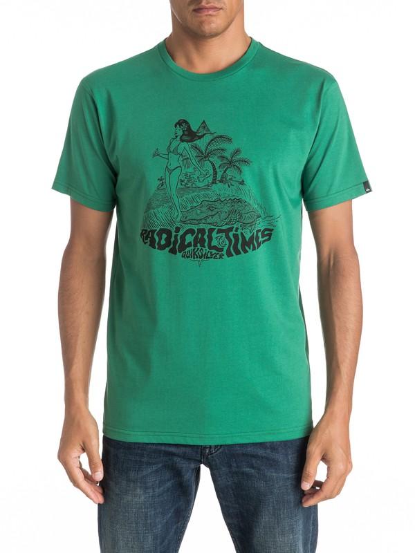 0 Classic Crocoride - Tee-Shirt  EQYZT04301 Quiksilver