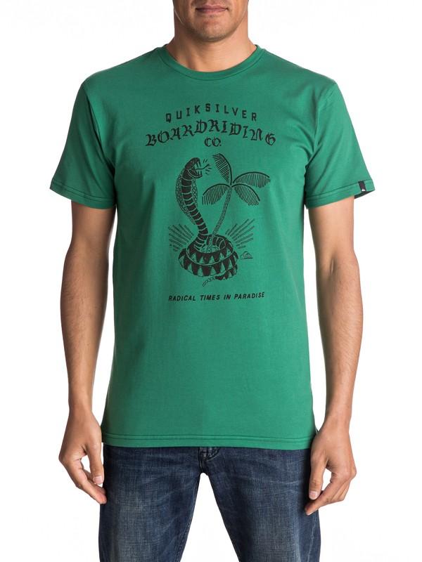 0 Classic Off The Block - Tee-Shirt  EQYZT04307 Quiksilver