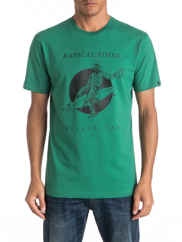 0 Classic Space Cowboy - Tee-Shirt  EQYZT04308 Quiksilver