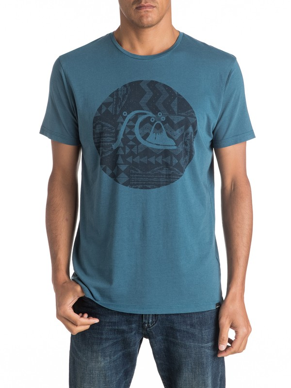 0 Garment Dye Circle Bubble - Tee-Shirt  EQYZT04325 Quiksilver