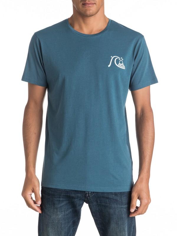 0 Garment Dye Mellow Dingo - Tee-Shirt  EQYZT04332 Quiksilver