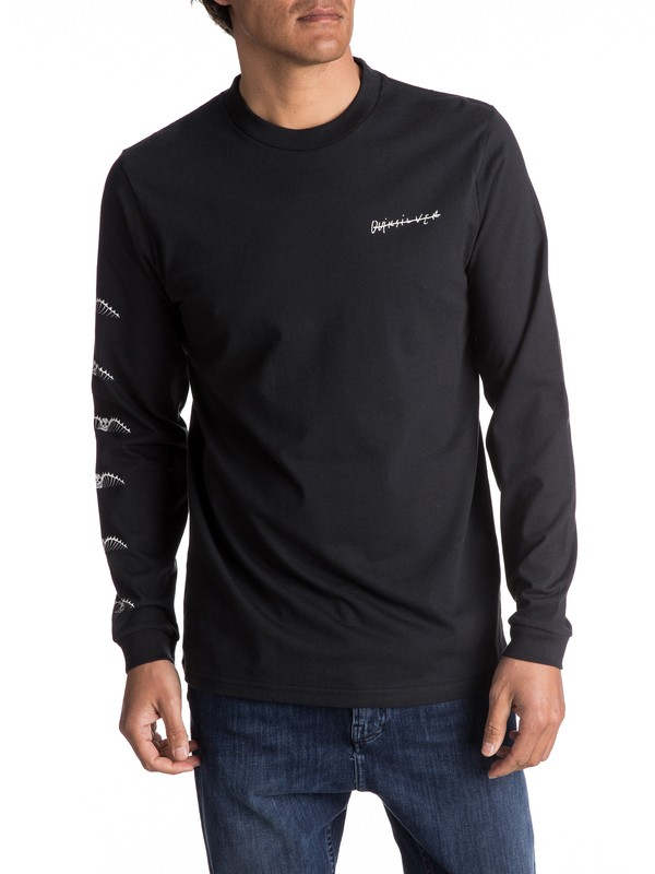 0 Malibu Motion Long Sleeve Tee  EQYZT04470 Quiksilver