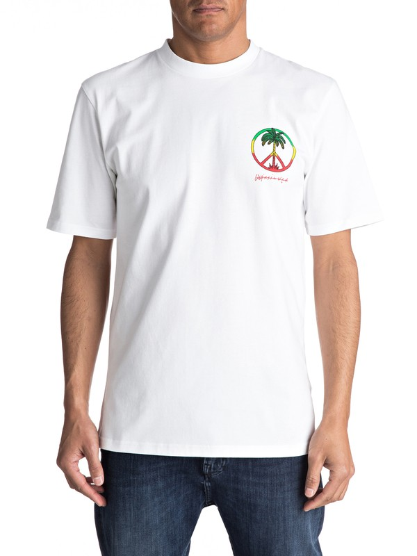0 Peace On The Beach - Camiseta para Hombre  EQYZT04475 Quiksilver