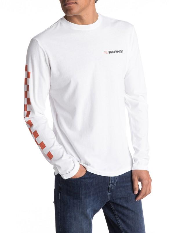 0 Past & Present - T Shirt à manches longues  EQYZT04488 Quiksilver