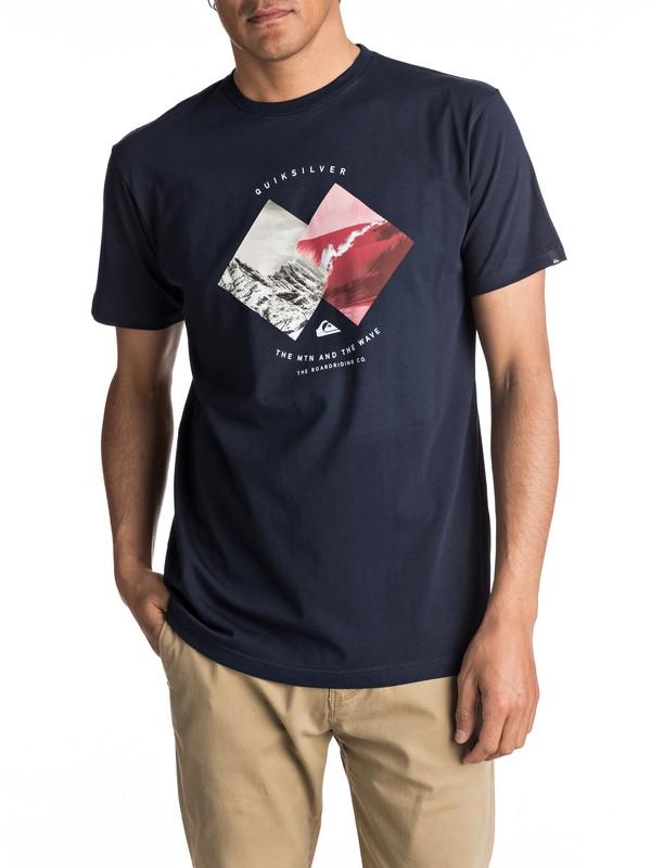 0 Classic Pleasure Zone - Tee-Shirt pour Homme  EQYZT04503 Quiksilver