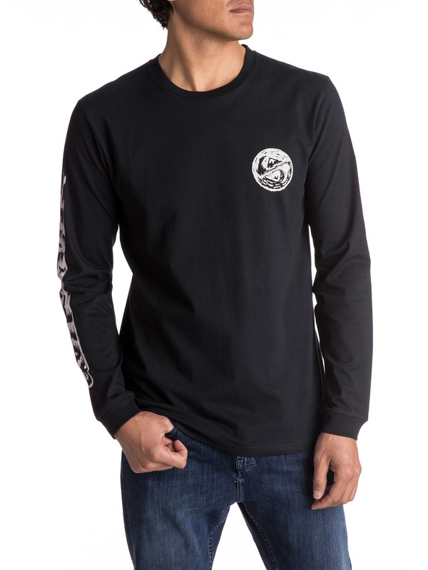 0 Bad Vision - T Shirt à manches longues pour Homme  EQYZT04517 Quiksilver