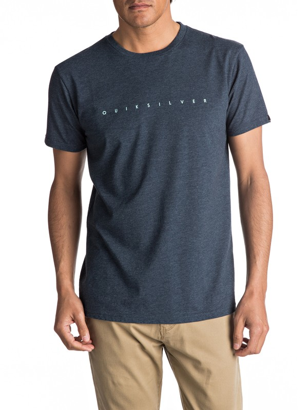 0 Premium East Clean Turn - T Shirt col rond  EQYZT04542 Quiksilver