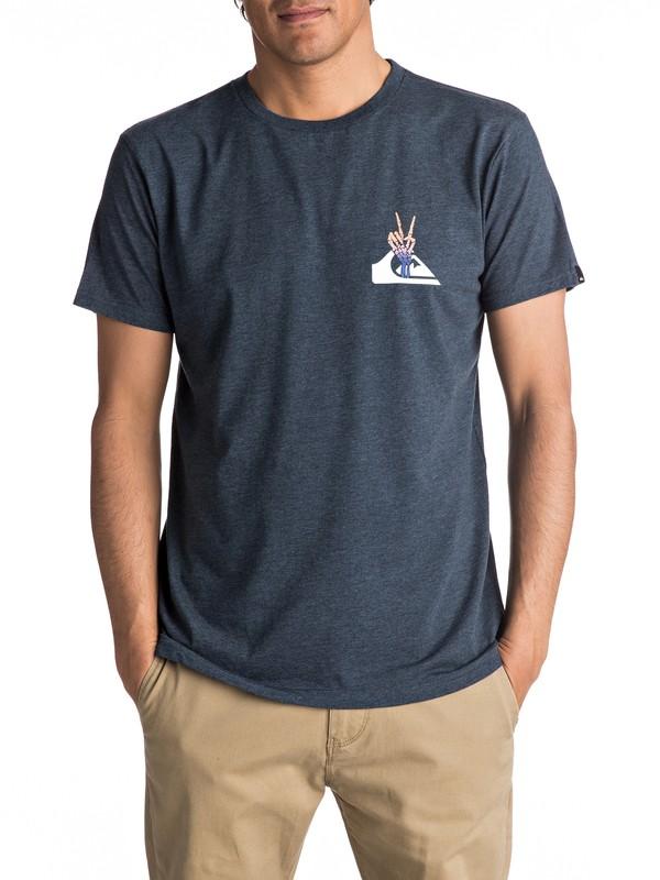 0 Premium East Peace Cave - T Shirt col rond pour Homme  EQYZT04545 Quiksilver