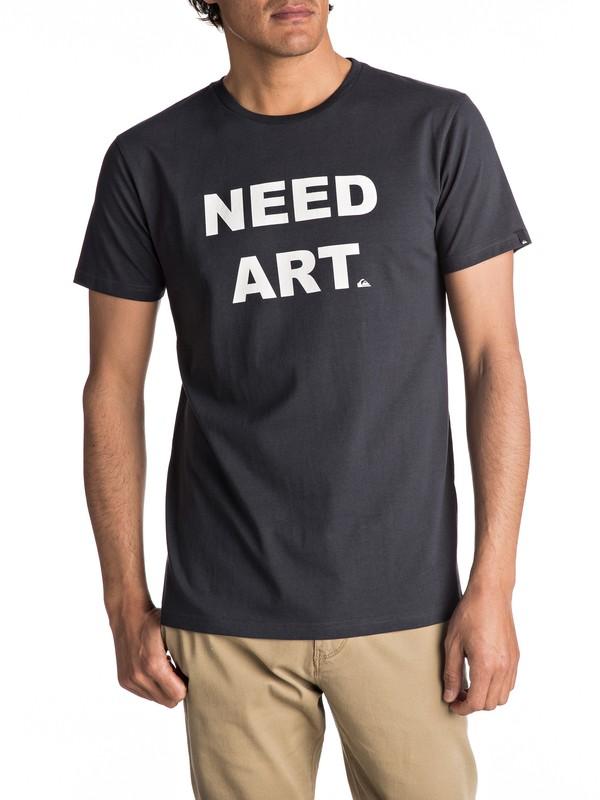 0 Sust East Need Art - T Shirt pour Homme  EQYZT04551 Quiksilver