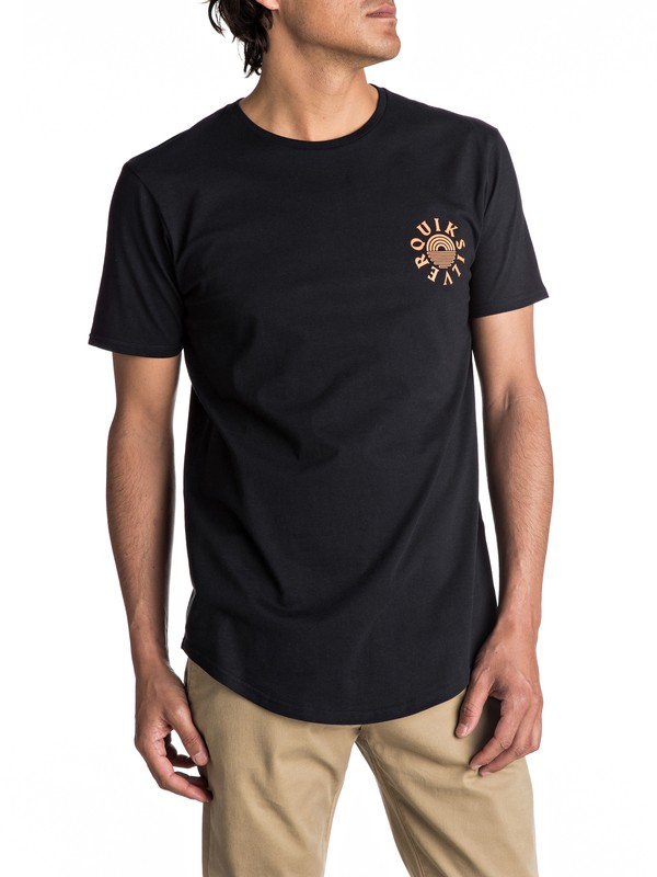 0 Scallop East Rising Dogs Tee  EQYZT04554 Quiksilver