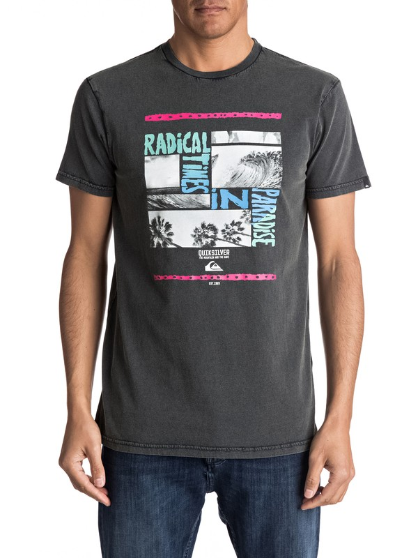 0 Speciality Radical Trip - Tee-Shirt pour Homme  EQYZT04560 Quiksilver
