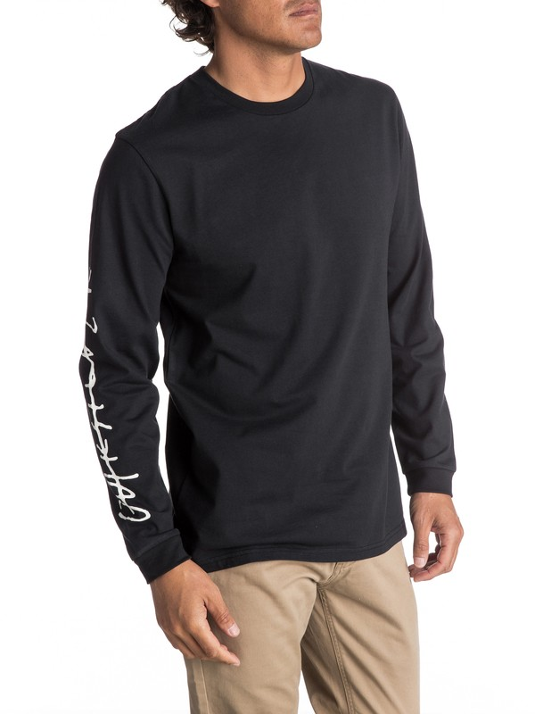0 Men's Beach Spray Long Sleeve Tee  EQYZT04593 Quiksilver