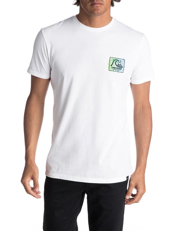0 Hombres Camiseta  Neon Scratch  EQYZT04595 Quiksilver