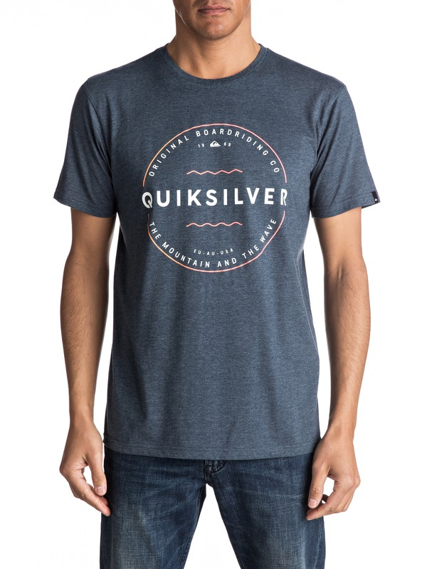 0 Zone Out - Tee-Shirt  EQYZT04705 Quiksilver
