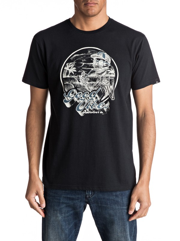 0 Vibes - Tee-Shirt  EQYZT04711 Quiksilver