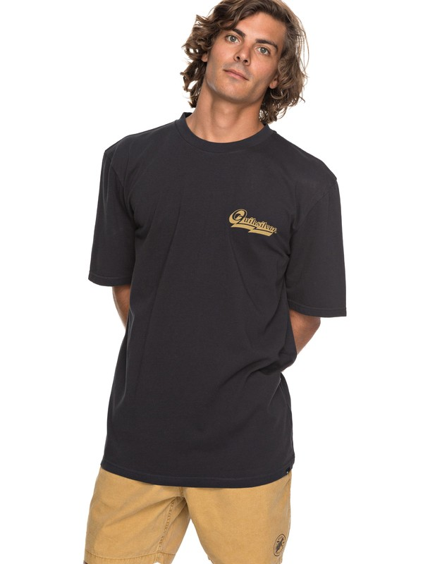 0 Hood Loves Tee Black EQYZT04736 Quiksilver