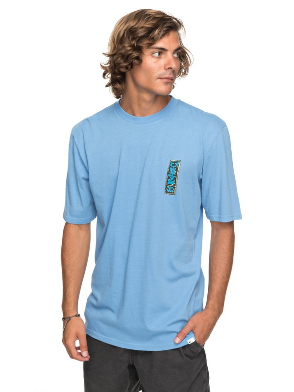 0 Framers Up Tee Blue EQYZT04737 Quiksilver