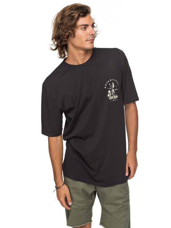 0 Curve Love - T-Shirt für Männer Schwarz EQYZT04738 Quiksilver