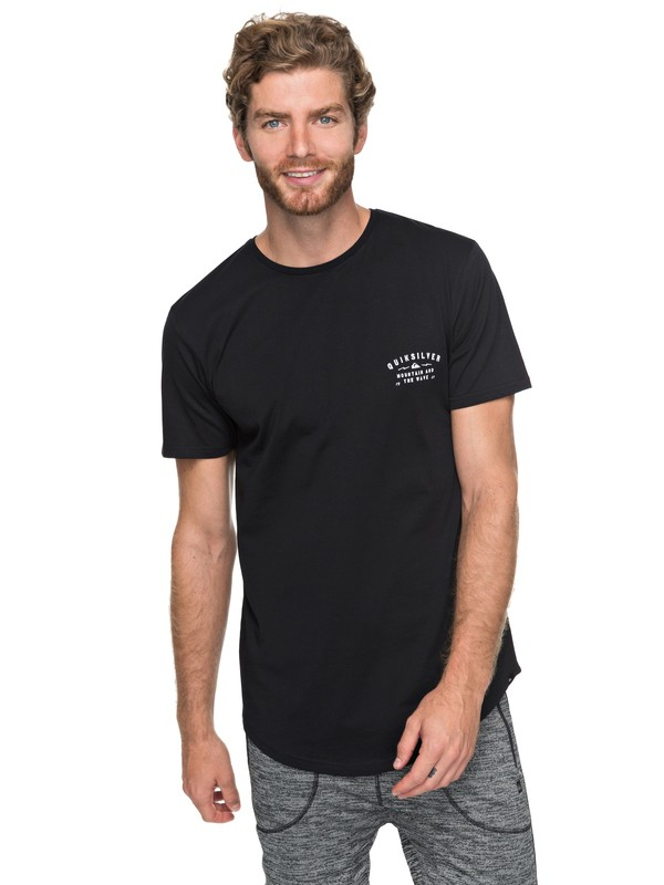 0 Scallop Spacer Facer - T-Shirt for Men Black EQYZT04744 Quiksilver