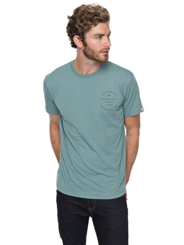 0 Dome Speak - Technical T-Shirt for Men Blue EQYZT04747 Quiksilver