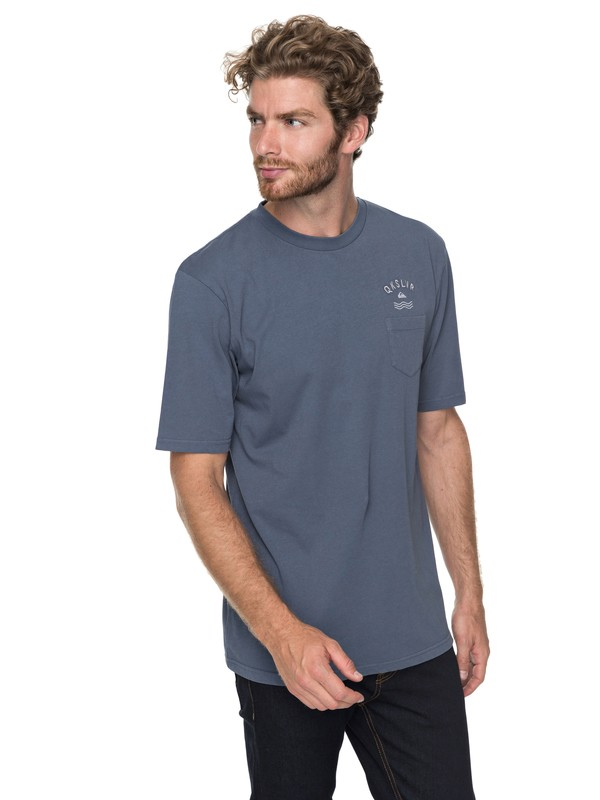 0 Slab Game Pocket Tee  EQYZT04751 Quiksilver
