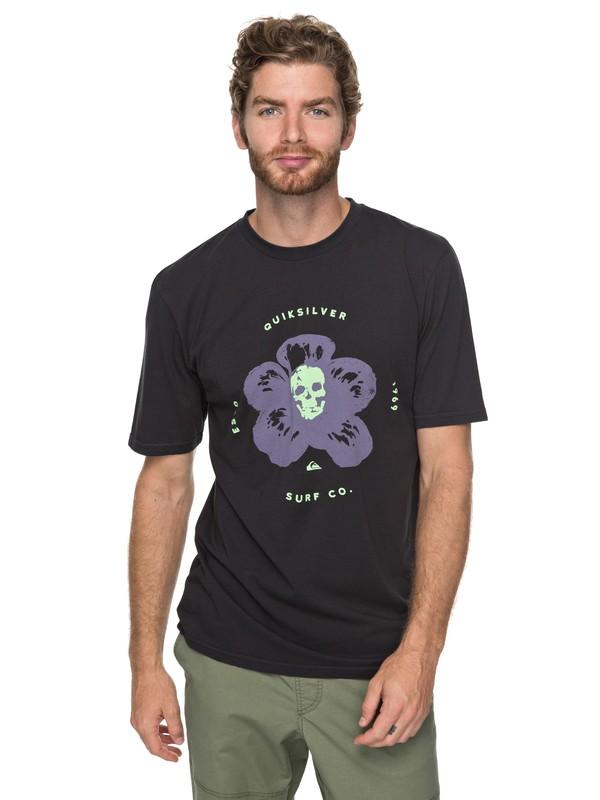 0 Cosmic Heat - Camiseta para Hombre Negro EQYZT04752 Quiksilver