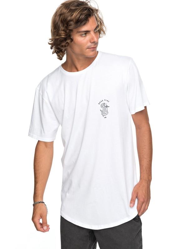 0 Scallop Board Fusion - T-Shirt White EQYZT04768 Quiksilver