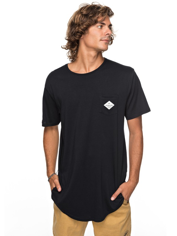 0 Scallop Loves Pocket Tee  EQYZT04769 Quiksilver