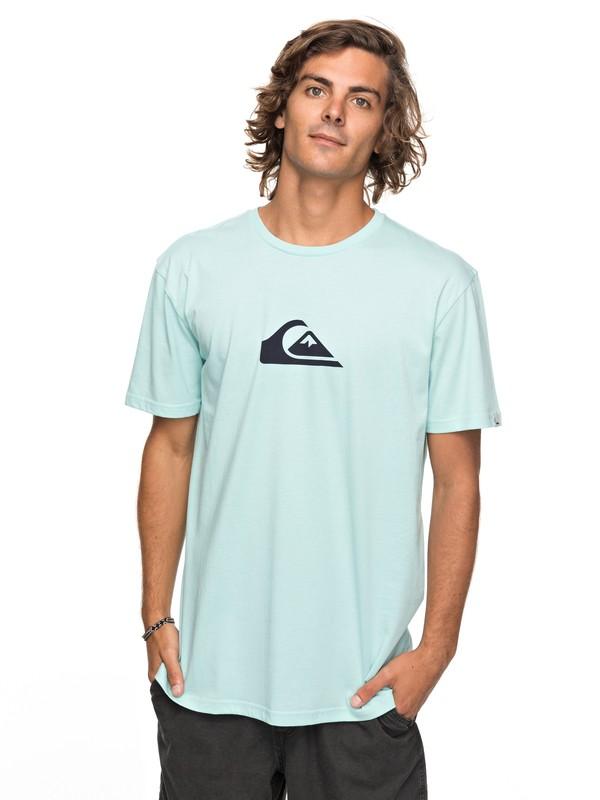0 Classic Comp Logo - T-Shirt for Men Blue EQYZT04773 Quiksilver