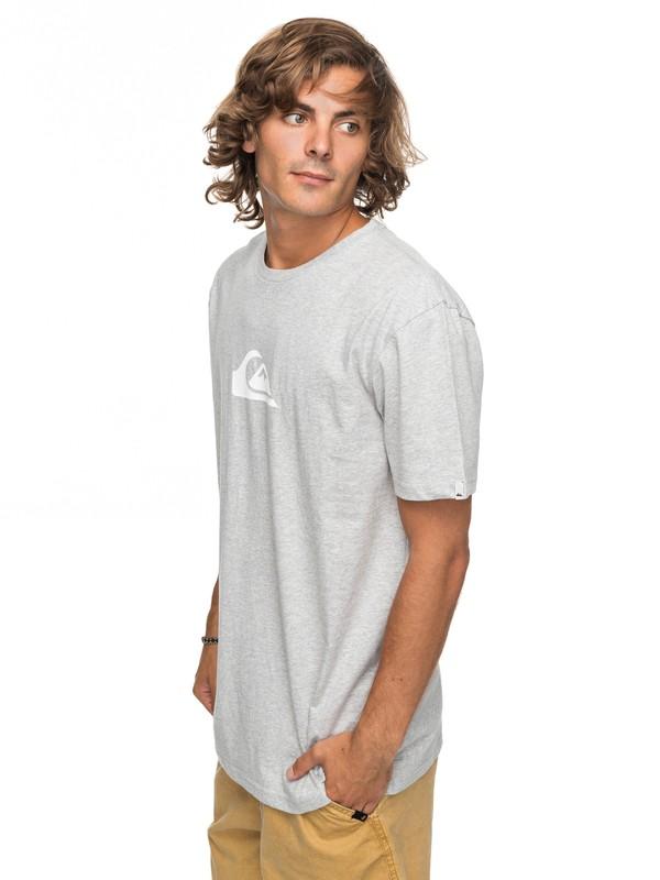 0 Classic Comp Logo - T-Shirt für Männer Grau EQYZT04773 Quiksilver