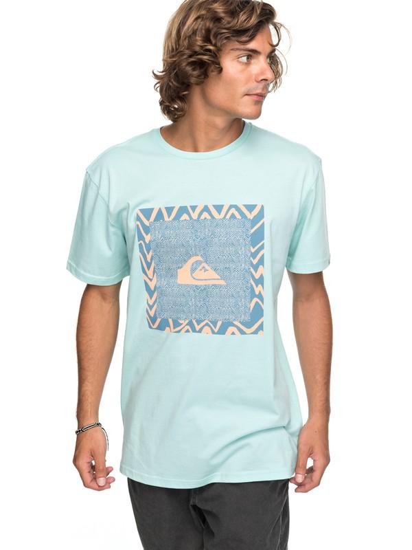 0 Classic Nano Spano - T-Shirt for Men Blue EQYZT04775 Quiksilver