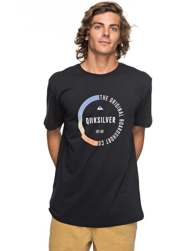 0 Classic Revenge - T-Shirt Black EQYZT04777 Quiksilver